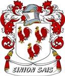 Einion Sais Coat of Arms, Family Crest