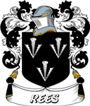 Rees Coat of Arms, Family Crest