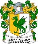 Wilkins Coat of Arms, Family Crest