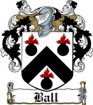 Ball Coat of Arms, Family Crest