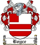 Boyce Coat of Arms, Family Crest