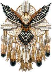 Aplomado Falcon Dreamcatcher