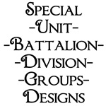 Military Troops, Units, Groups, Divisions, etc.