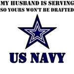 My Husband is serving - US Navy