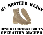 Operation Archer - Brother desert combat boots