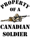 Property of a Canadian Soldier