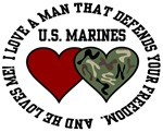 US Marines - I love a man that defends your freedo