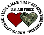 Air Force - I love a man tht defends your freedom