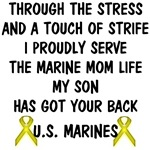 Marine Mom - My Son Has Got Your Back Poem