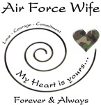 Air Force Wife - Love Courage Commitment