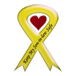 Keep My Son-in-law Safe Yellow Ribbon