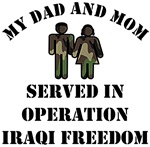 My Dad and Mom served in OIF
