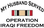 My Husband Served - OIF