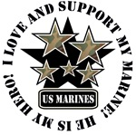 I Love and Support my MARINE