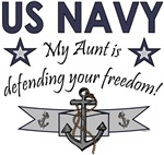 My Aunt is defending your freedom!