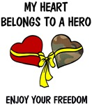My Heart belongs to a Hero