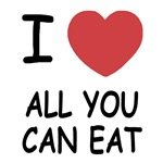 I heart all you can eat