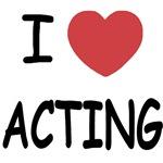 I heart acting