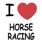 I heart horse racing