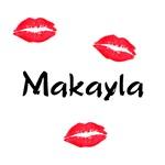 Makayla kisses