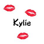 Kylie kisses