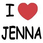 I heart jenna