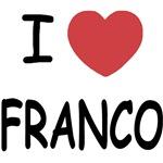 I heart franco