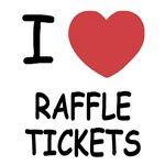 I heart raffle tickets