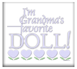 Grandma's Favorite Doll - Blue