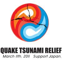 Quake Tsunami Relief Yin Yang Support Japan