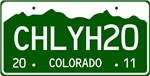 CHLY H2O, Colorado Plate