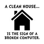 Clean House Broken Computer