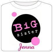 Big Sister - Pink/Black