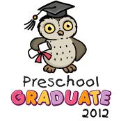 Preschool graduate 2012 - Owl (Pastel)
