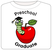 Bookworm Preschool Graduate