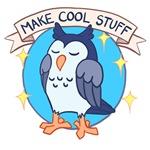 Make Cool Stuff owl emblem