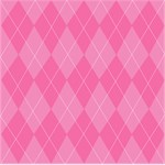 Pink Argyle