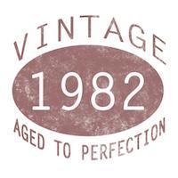 1982 Vintage (Red)