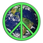 Earth Peace Symbol 2