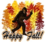 Fall Bigfoot Sasquatch Yetti