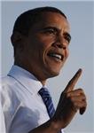 Barack Obama Makes a Point
