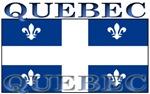 Quebec Quebecer Flag