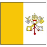 Vatican City Blank Flag