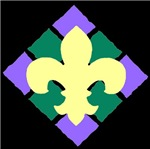 Fleur De Lis Tile