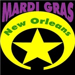 MArdi Gras Badge