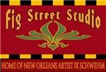 Fig Street Studio Sign