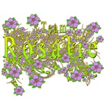 Team Rosalie Floral Lavender Flowers yellow Gold