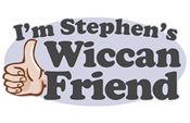 I'm Stephen's Wiccan Friend