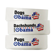 Dog Bowls for Obama