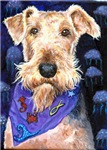 Airedale Terrier dog t-shirts and clothes